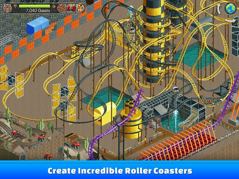 Симулятор RollerCoaster Tycoon