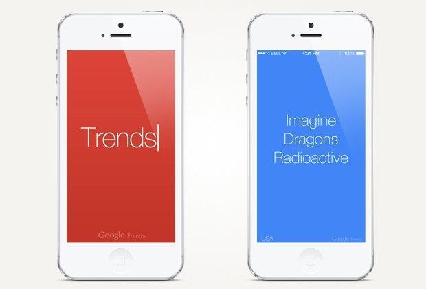 Trends на смартфоне