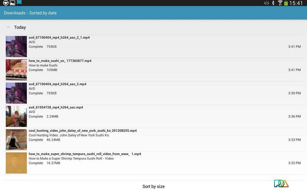 Загрузчик AVD Download