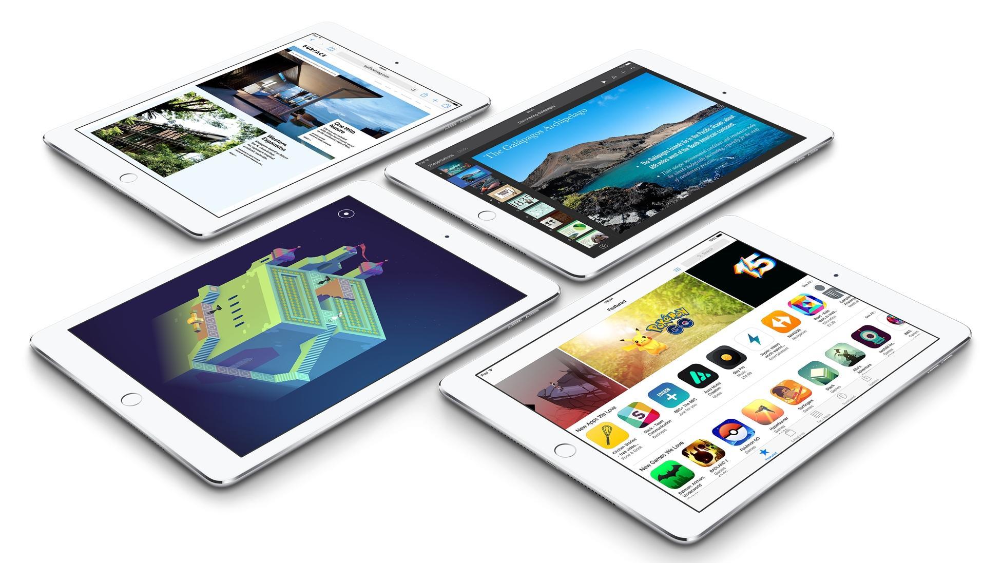 Продажи планшетов 2018