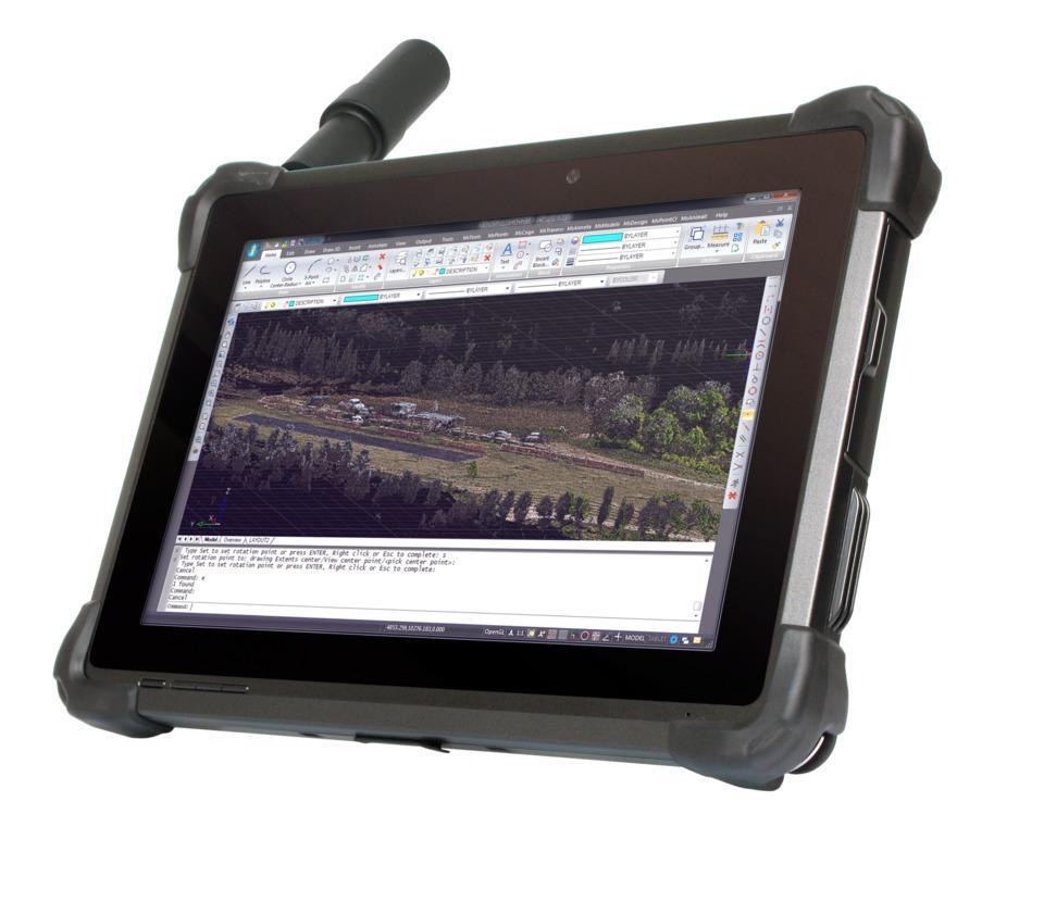 DT301T Rugged RTK Tablet