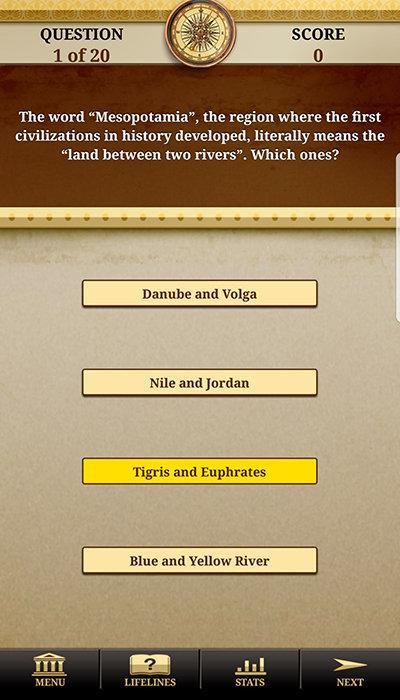 Genius World History Quiz Full