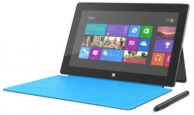 Microsoft Surface Pro 2 поддерживает работу с клавиатурой и стилусом