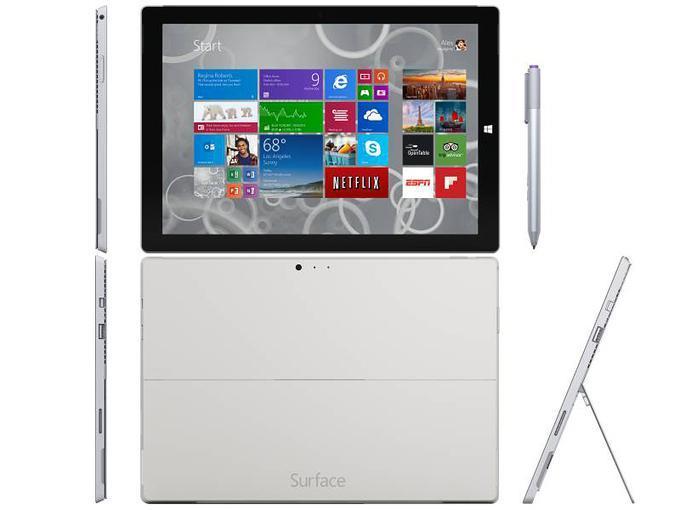 Microsft Surface 3 - стильный и мощный
