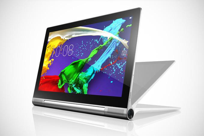 Фирменная фишка планшета Lenovo Yoga Tablet 2 Pro — дисплей