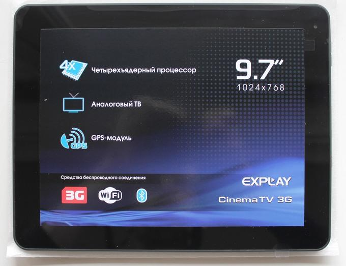 Планшет-телевизора Explay CinemaTV