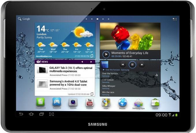 На планшетах и смартфонах Android есть несколько рабочих столов