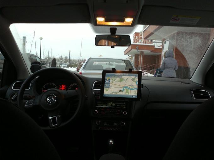 iPad в роли навигатора