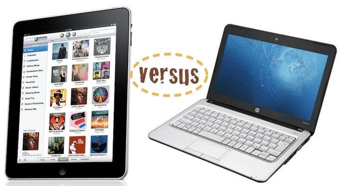 Выбор между планшетом и ноутбуком - довольно трудный