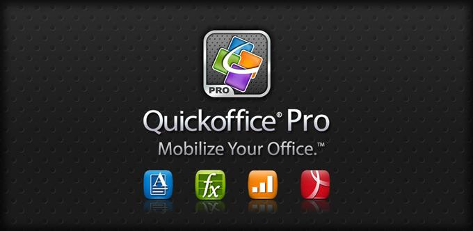 Приложение Quickoffice