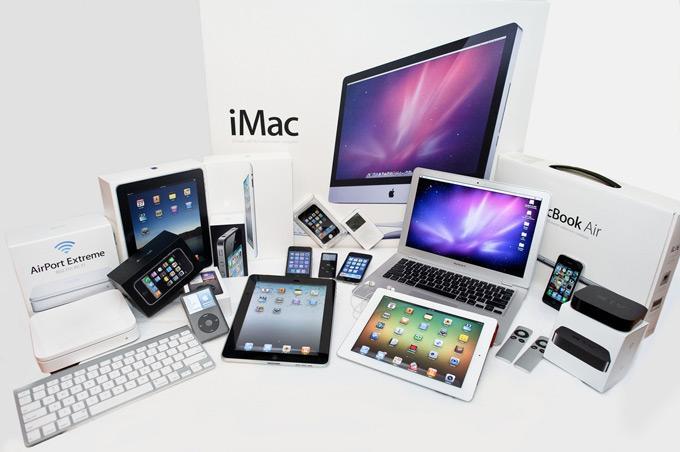 Продукция Apple имеет множество схожих внешних признаков