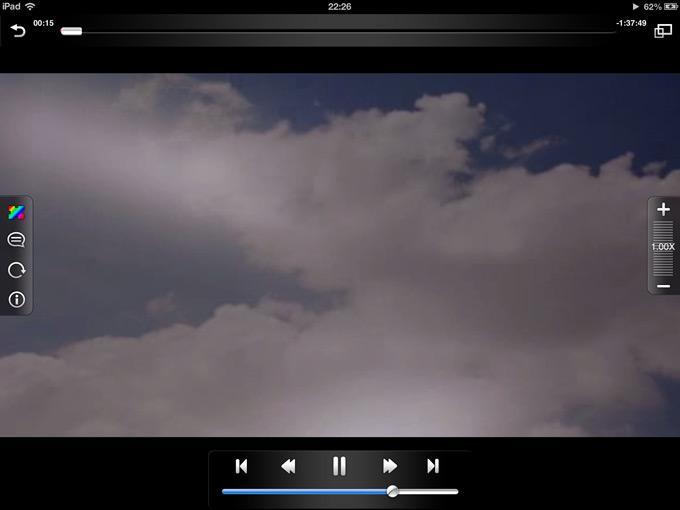 Интерфейс видеоплеера AV Player