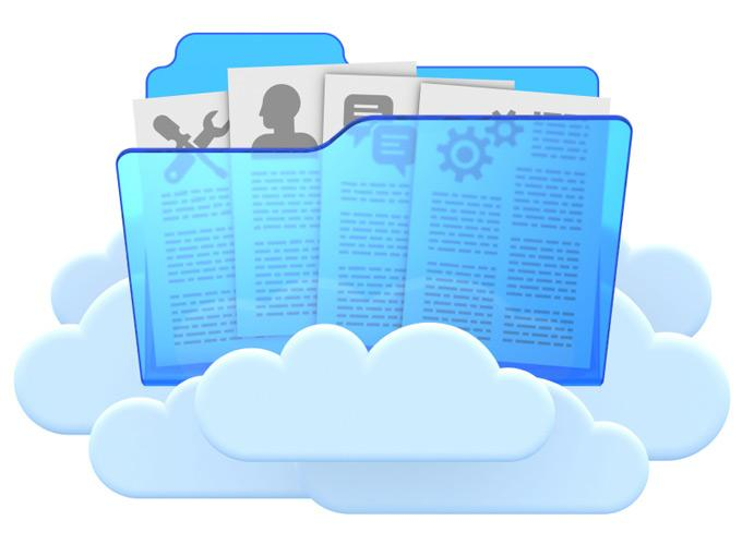 Резервная копия может находитьсяв облачном хранилище