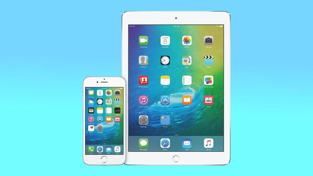 Интерфейс iOS 9