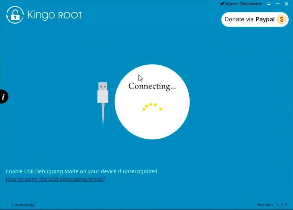 Root-права через Kingo Android Root