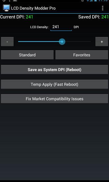 LCD Density Modder Pro