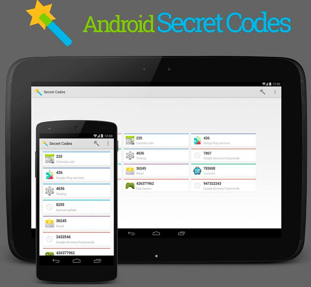 Приложение Secret Codes для Android