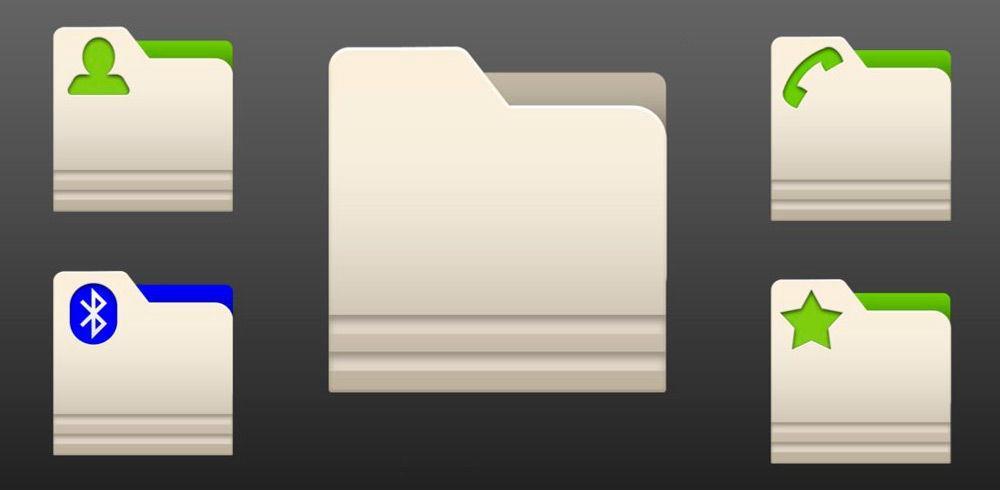 Создать папку на Андроид-планшете