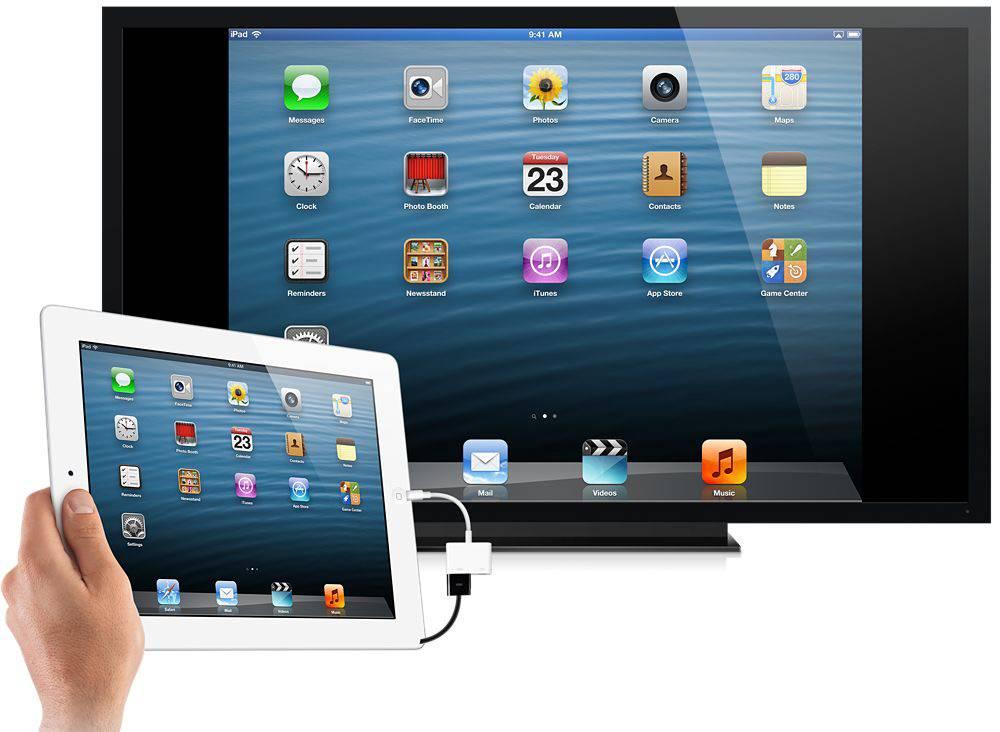 Подключить iPad к телевизору