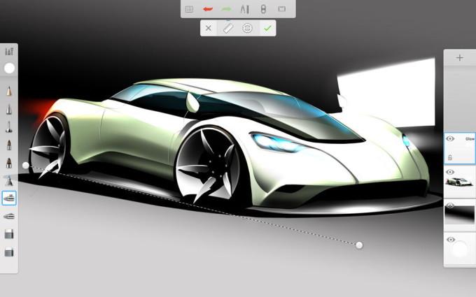 Программа Autodesk SketchBook