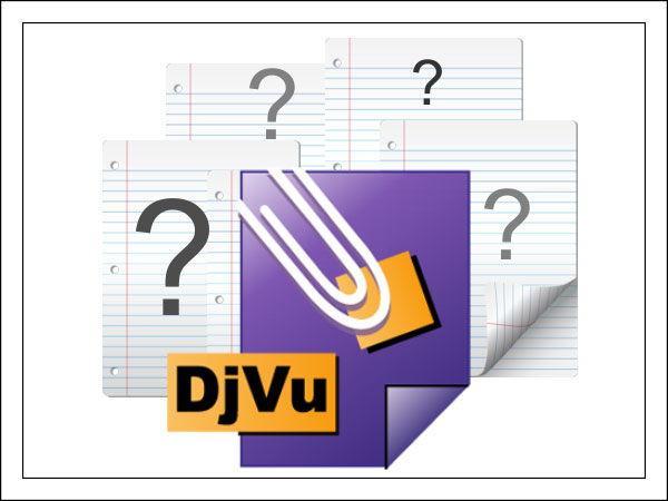 Особенности формата DjVu