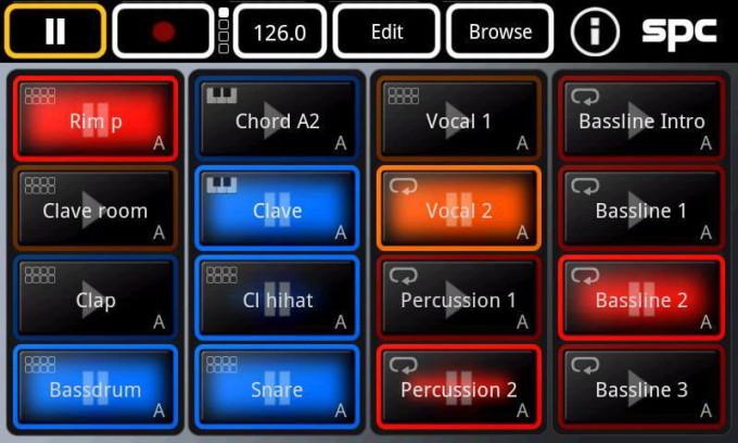 Утилита Music Sketchpad для Андроид