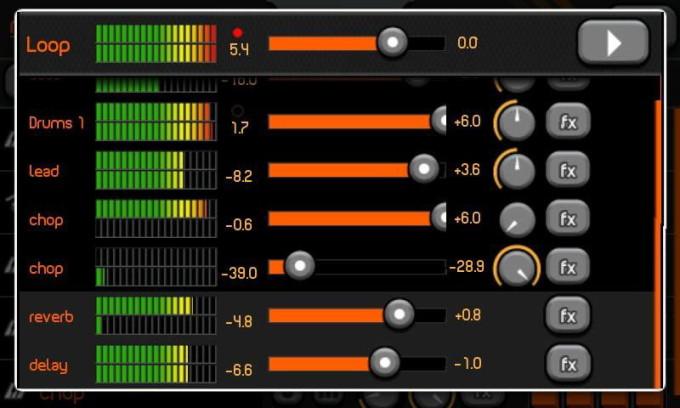 Создание треков с помощью PocketBand