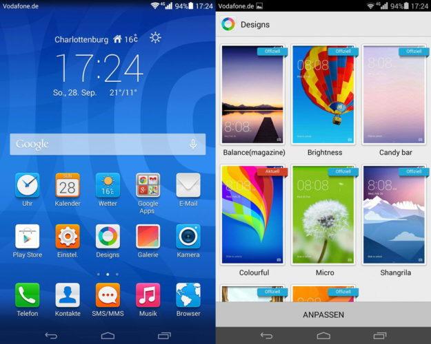 Android с оболочкой Emotion UI
