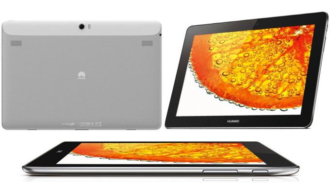 Дизайн Huawei MediaPad 10 FHD