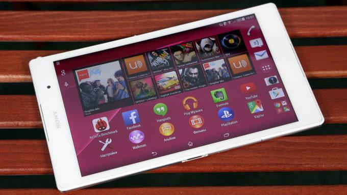 Конкурент Sony Xperia Z3 Tablet Compact