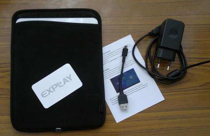Минимальная комплектация Explay N1