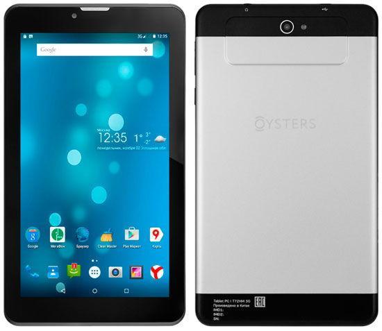 Планшет Oysters T72HM 3G от Мегафон