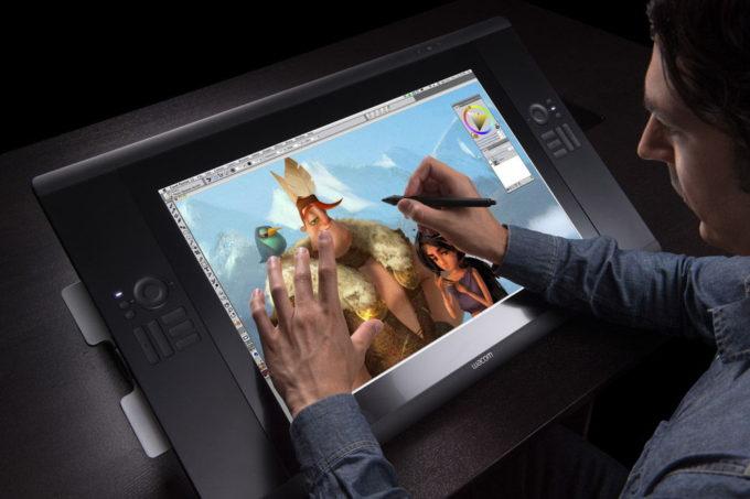 Роль планшетных ПК в работе художника