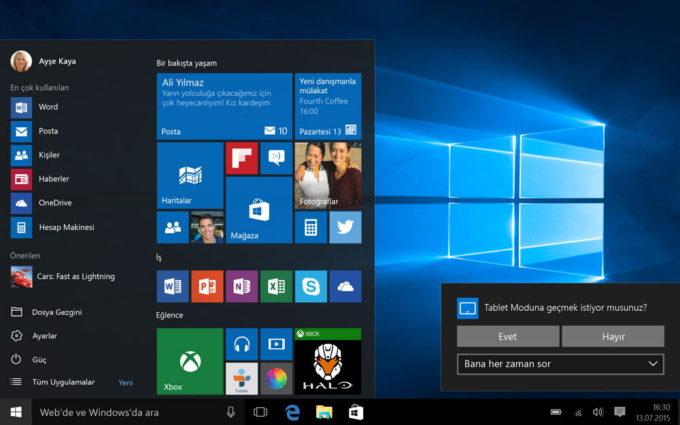ОС Windows 10 на гаджете премиум-класса