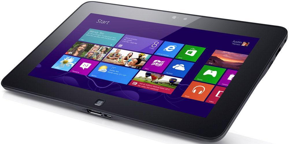 Операционная система Windows на планшете