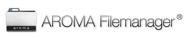 Обзор программы AROMA Filemanager