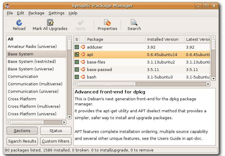 Установка deb-пакетов для Linux