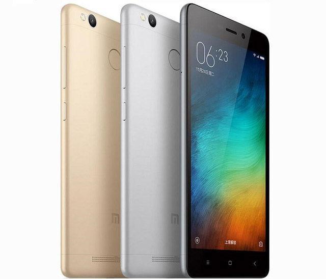 Дизайн смартфона Xiaomi Redmi 3 Pro