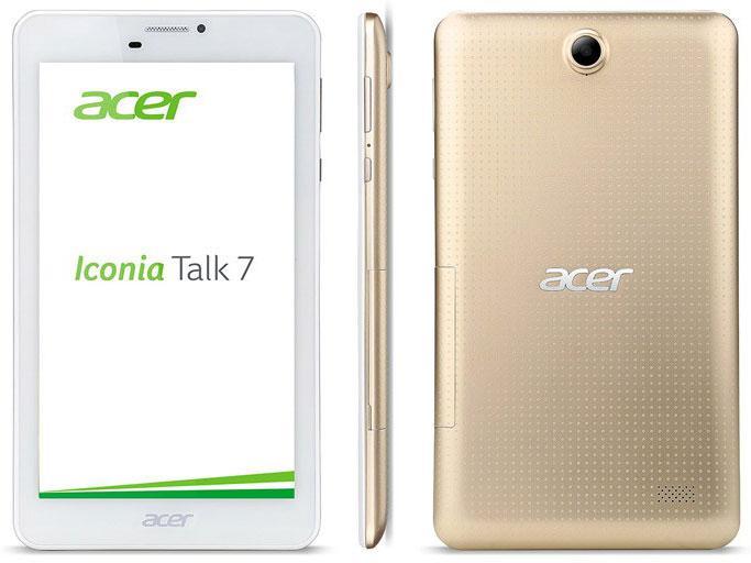 Обзор планшета Acer Iconia Talk 7