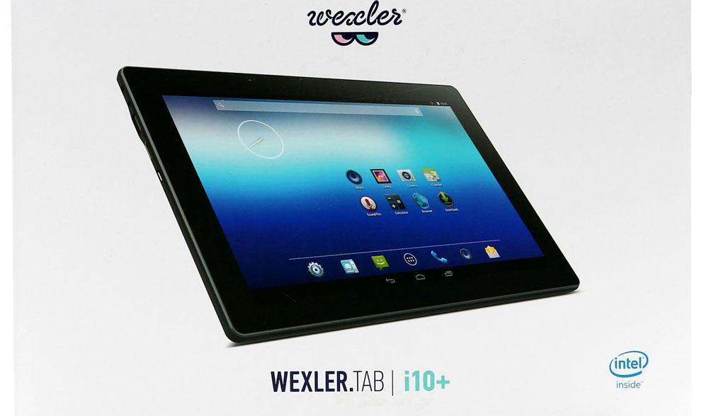 Обзор планшета WEXLER Tab i10+