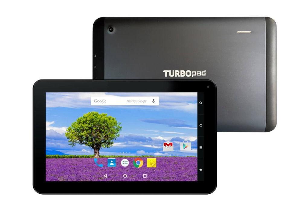 TurboPad 1014 на белом фоне