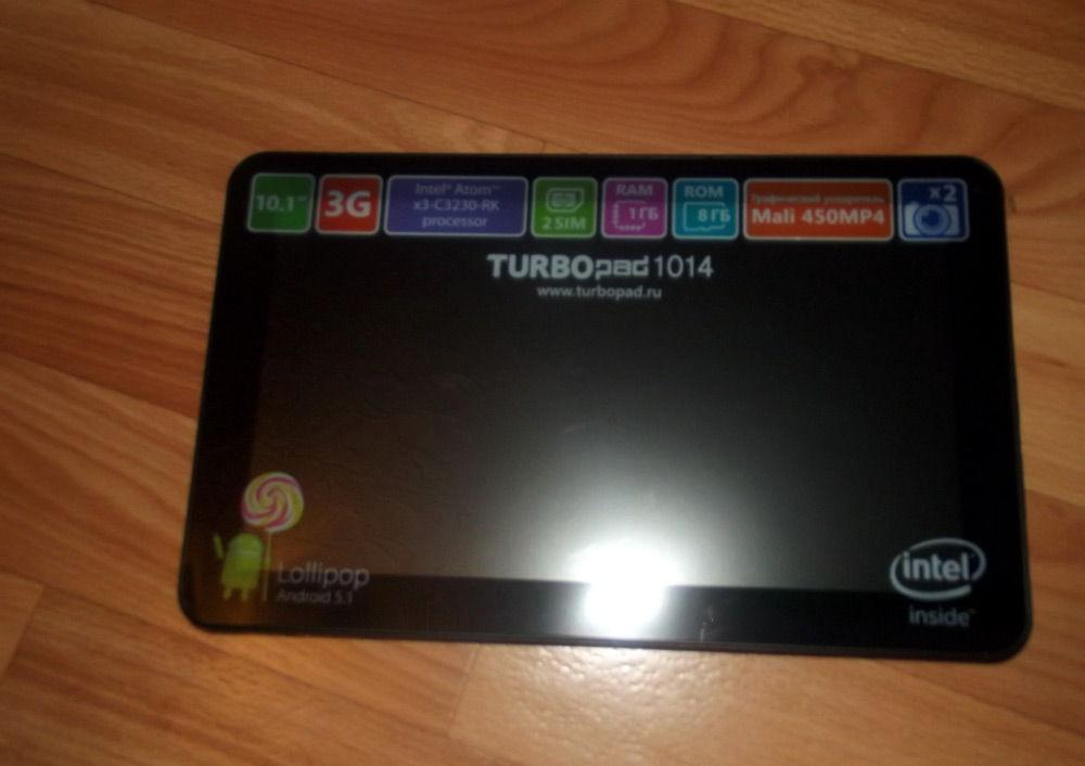 TurboPad 1014 на столе