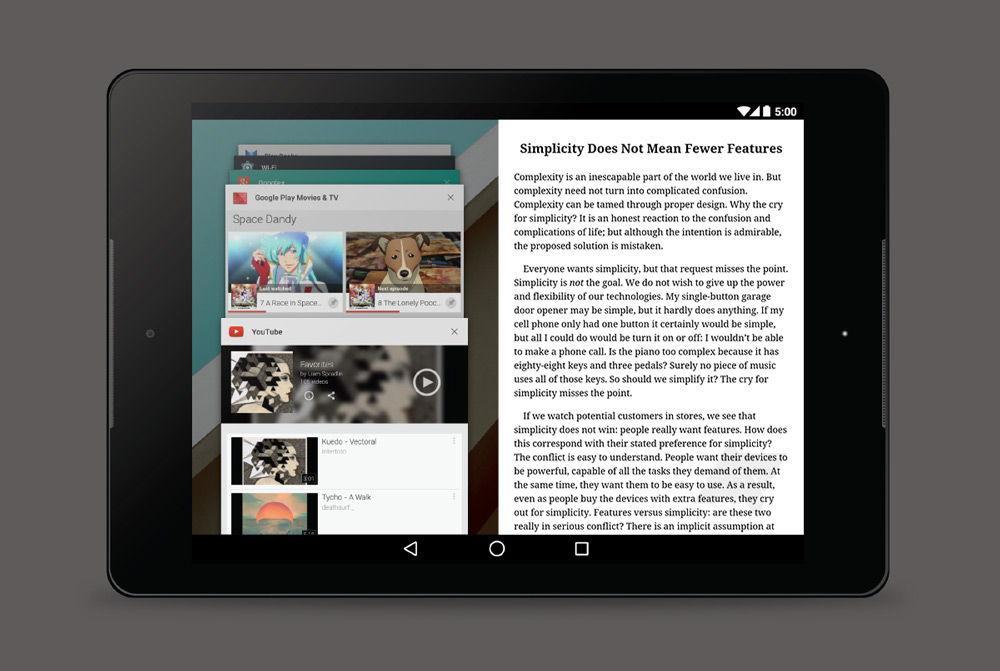 Планшет на Android 7