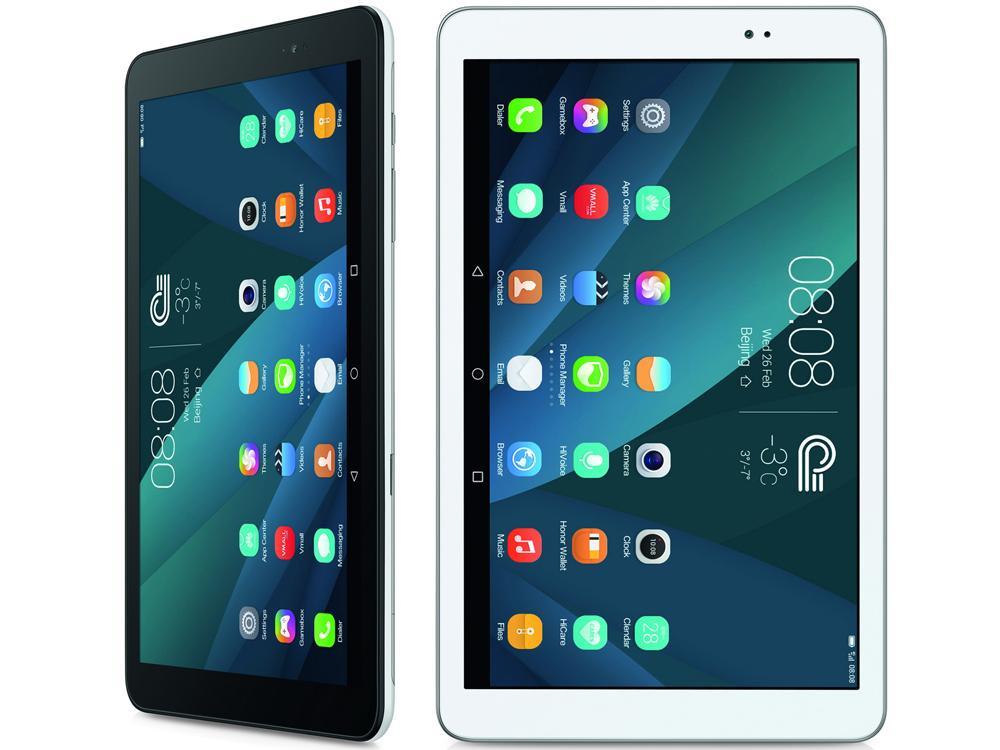 Белый и черный планшеты на андроиде