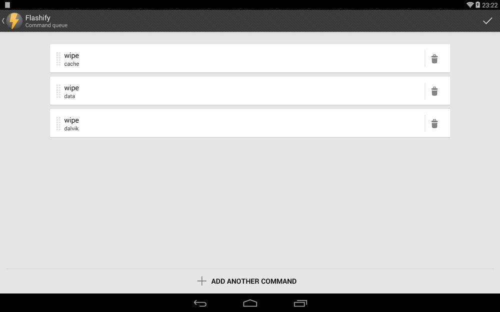 Flashify скриншот