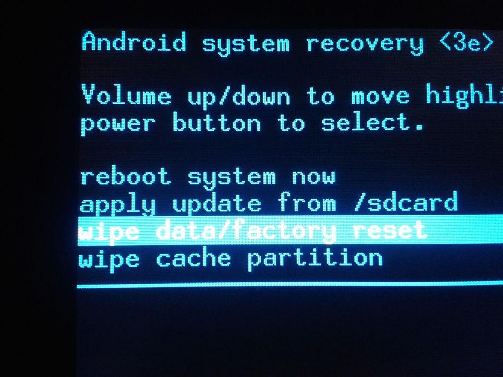 Recovery на Андроиде