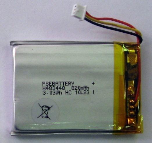 Батарея с контактами