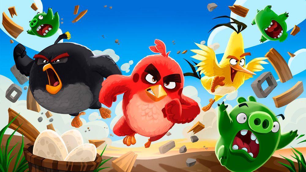Angry Birds игры на Андроид