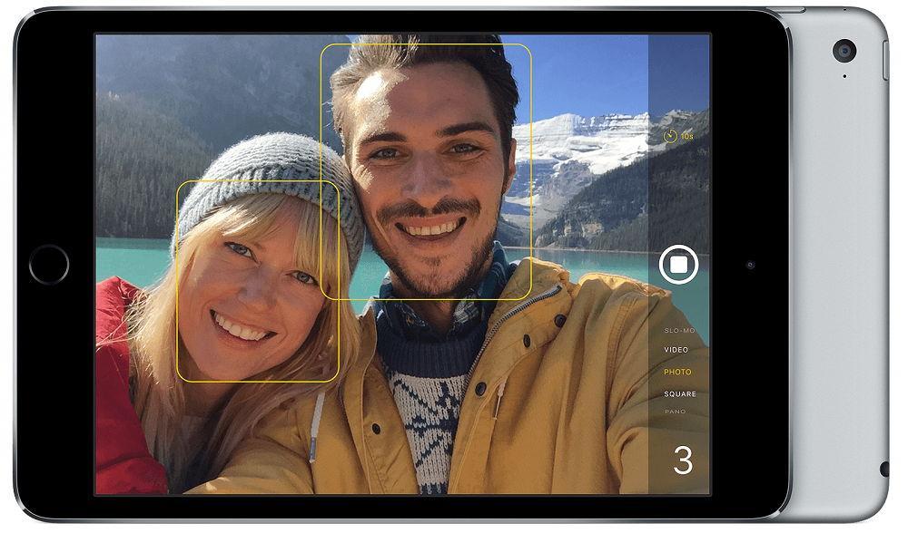Фронтальная камера iPad 4