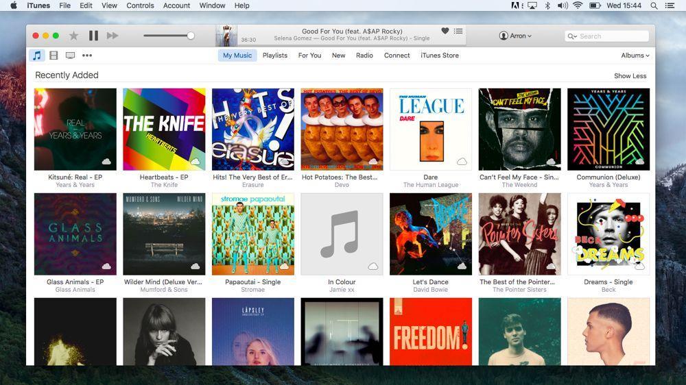 Популярное приложение iTunes